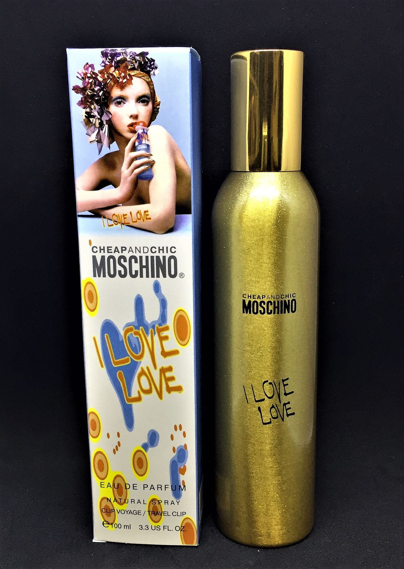 c6d28e5efe48ac Мини-парфюм Gold АРАБЫ Moschino Cheap & Chic I Love Love 100 ml (ж ...